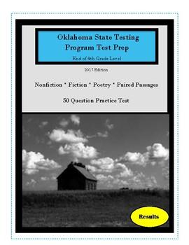 Oklahoma Test Prep 2017 Grade Four ELA