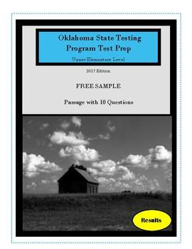Oklahoma Test Prep 2017 Upper Elementary Free Sample