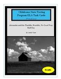 Oklahoma Test Prep Task Cards Alexander and the Terrible,