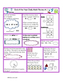 Oklahoma State Standards Daily Math Review 2nd Grade End of Year