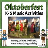 Oktoberfest Music Activities & German Folk Song   Mein Hut