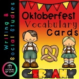 Oktoberfest Vocabulary Cards