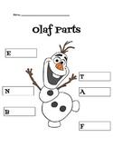 Olaf Body Parts