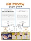 Olaf Bulletin Board Craftivity
