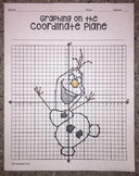 Friendly Snowman (Graphing on the Coordinate Plane Mystery