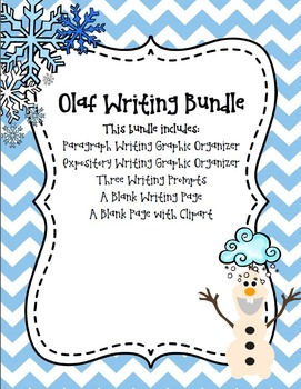 Olaf Writing Bundle *Frozen*