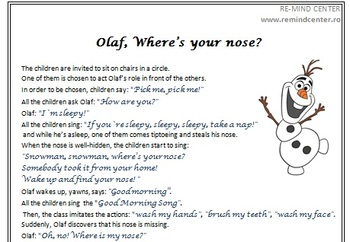 Olaf's  Nose Game