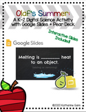 Olaf's Summer- Heating Cooling Freezing Melting Pear Deck Science Activity