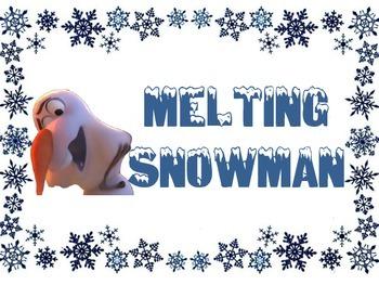 Olaf's Behavior Chart (Frozen)