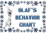 Olaf's Behavior Chart (Frozen)
