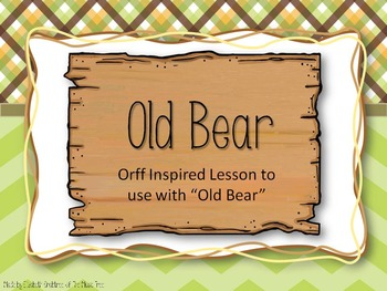 Old Bear - Connecting Music to Stories
