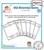 Old Binomial Factoring Game - Deck #5