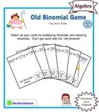Old Binomial Factoring Game - Deck #6
