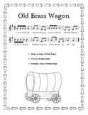 """Old Brass Wagon"" Printable Song Sheet"