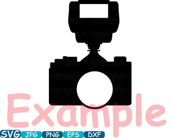 Old Camera Circle Cutting SVG Monogram Clipart Wedding Photo Booth frame -258S