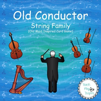 Music Old Maid - Old Conductor - String Family