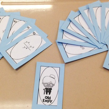 Old Expy - Exponent Rules Game!