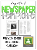 Old Fashioned Newspaper | Digital Resource | Google Drive Resource