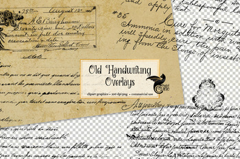 Old Handwriting Overlays
