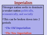 Old Imperialism and New Imperialism