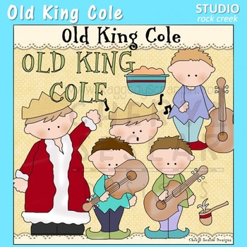 Old King Cole Clip Art  C. Seslar