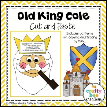 Old King Cole Cut and Paste