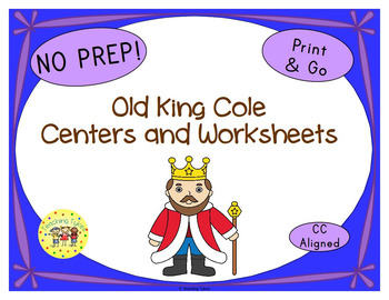 Old king cole nursery rhyme primary resources page for Old king cole coloring page