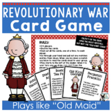 Revolutionary War Card Game Old King