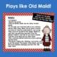 "Revolutionary War Card Game- ""Old King"""