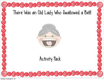Old Lady Bell Activities
