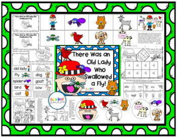 Old Lady Books: Retelling and Extension Activities {Bundled and Growing!}