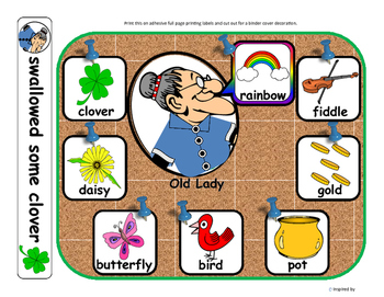Old Lady Books for Autism: Clover