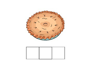 Old Lady Books for Autism: Pie