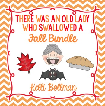 Old Lady Fall Bundle Pack {Leaves, Bat, Pie}