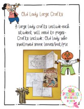 Old Lady Large Crafts Set 1