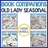 Old Lady Seasonal Language Book Companion BUNDLE