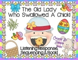 Old Lady Swallowed A Chick Listening Response, Sequencing & Reader!