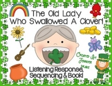 Old Lady Swallowed A Clover Listening Response, Sequencing & Reader!