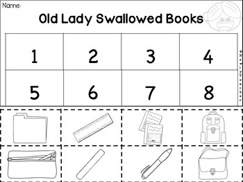 Old Lady Swallowed Some Books
