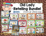 Old Lady Swallowed Listening Responses & Retelling Bundle!