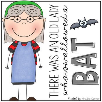 Old Lady Swallowed a Bat Book Companion