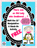 Old Lady Who Swallowed FREE Activity for Retelling & BONUS