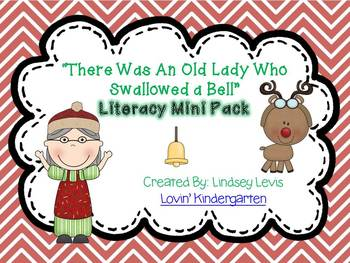 There Was an Old Lady Who Swallowed a Bell- Literacy Mini Pack