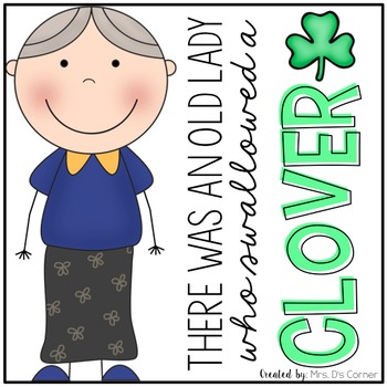 Old Lady Swallowed a Clover Book Companion