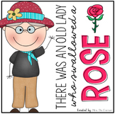 Old Lady Swallowed a Rose Book Companion