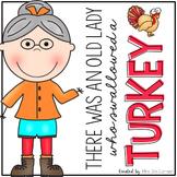 Old Lady Swallowed a Turkey Book Companion