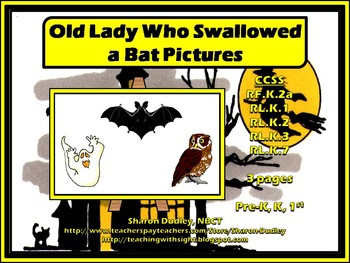 Old Lady Who Swallowed A Bat Pictures