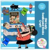 Old Lady Who Swallowed Books Craft