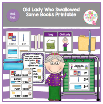 Old Lady Who Swallowed Some Books