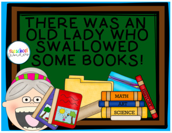 Old Lady Who Swallowed Some Books Essential Questions/Story Recalling Activities